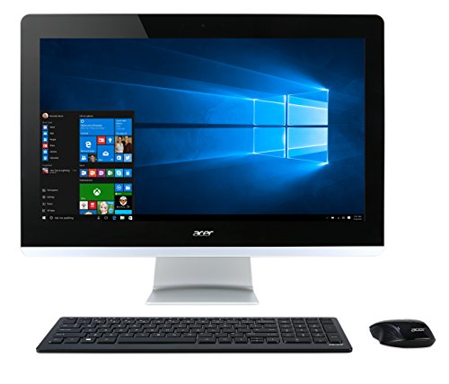 Acer Aspire AZ3-710-UR55  FHD 23.8 Inch Touchscreen All-in-One Desktop (Intel Core i3, 6 GB RAM, 1 TB HDD, Intel HD Graphics 4400, Windows 10)