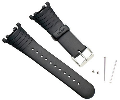 Suunto Vector black elastomer (SS004768000) Bracelet montre élastomère Noir