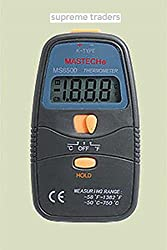 MASTECH MS6500 K type thermocouple Digital Thermometer Temperature by Supreme Traders Supertronics1989
