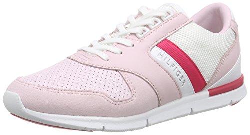 Tommy Hilfiger S1285KYE 1Z, Damen Sneakers, Pink (PALE LILAC/SNOW WHITE/PINK SP 768), 40 EU thumbnail