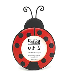Ladybug Round Picture Frame Adorable Photo Frame