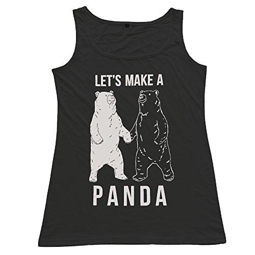panda-shop223-panda-a-maniche-corte-canottiera-da-bambina-tshirt-black-large