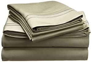 Egyptian Cotton 1600 Thread Count Sheet Set Solid