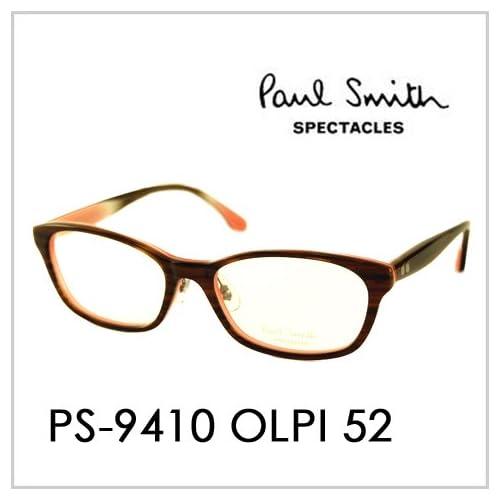 PAUL SMITH ポールスミス  メガネフレーム サングラス 伊達メガネ 眼鏡 PS-9410 OLPI 52 PAUL SMITH専用ケース付 スペクタクルズ