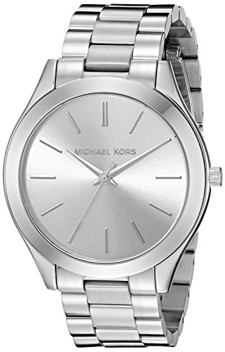 Michael Kors Women's Runway Silver-Tone Watch