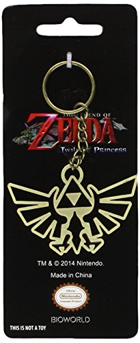 The Legend of Zelda Twilight Princess Triforce Key Chain [Toy] (japan import)