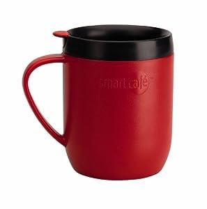 Smartcafe Cafetiere Hot Mug, Red
