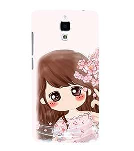 EPICCASE Dream Gril Mobile Back Case Cover For Xiaomi Mi4 (Designer Case)