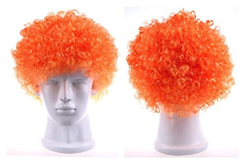 U.S. TOY COMPANY INC. Spirit Wig Orange