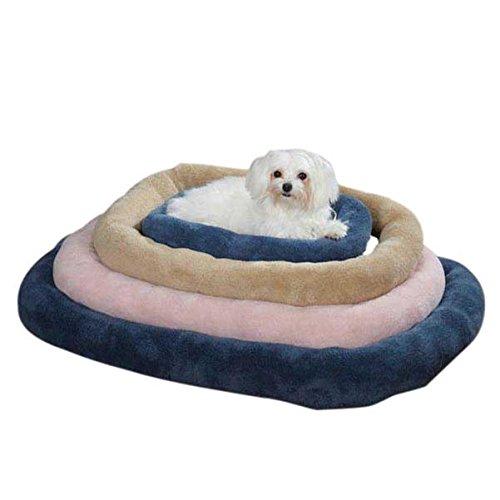 Slumber Pet Comfy Crate Pet Bed, Small, Tan front-1060181