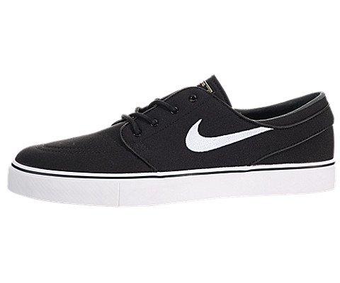 Nike Zoom Stefan Janoski CNVS Scarpe da skateboarding, Uomo, Nero, 46