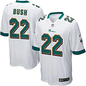 NFL Reggie Bush Miami Dolphins Youth Size Jersey White by OuterStuff
