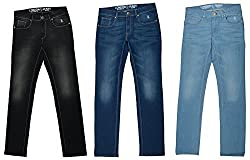 London jeans mens slim fit jeans pack of 3