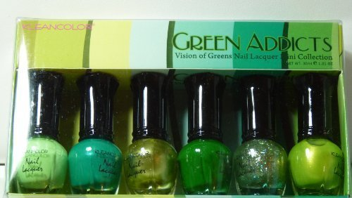 Kleancolor-Nail-Lacquer-Mini-Collection-Green-Addicts-NPC603
