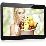 """Excelvan 10.1"""" HD 3G Tablette Tactile BT-MT10 Résolution 1024*600 Android 4.4.2 MT6572 Dual-Core 1.3Ghz 1GB RAM + 8GB ROM Dual SIM Deux Caméras Bluetooth WIFI (Noir)"""