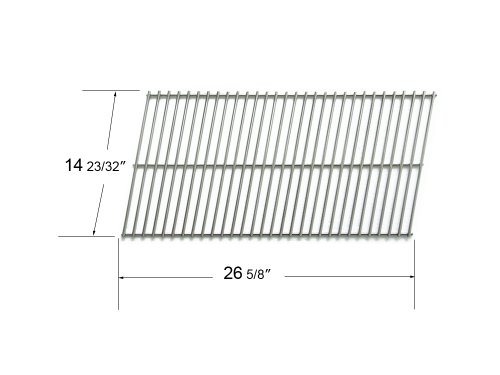 55801 - Charbroil, Kenmore And Thermos Replacement Stainless Steel Cooking Grid front-221382