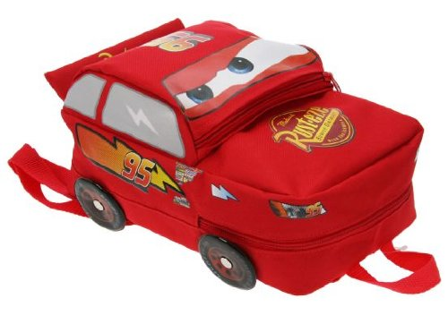 Trade Mark Collections Disney Cars Piston Cup Lightening McQueen Shaped Backpack School Bag