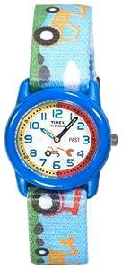 Timex Classic Jungen-Armbanduhr Timex Classic Time Teacher Analog Textil T7B611