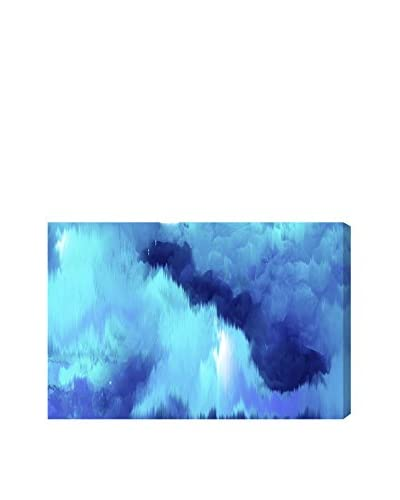 Oliver Gal Vivanti Blue Canvas Art, Multi