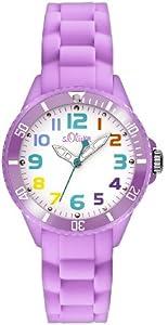 s.Oliver Unisex-Armbanduhr Analog Quarz Silikon SO-2431-PQ