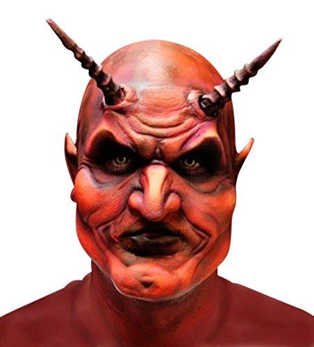 Woochie by Cinema Secrets Men's Devil Foam Prosthetics with Adhesive and Makeup (Devil Makeup Stack)