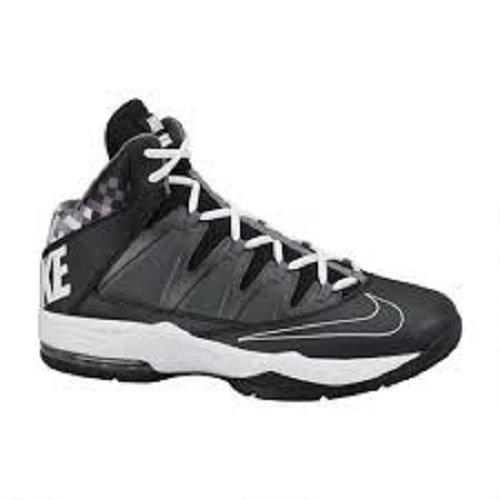 size 40 784e2 e4c7a Mens Nike Air Max Stutter Step Basketball Shoe Black Dark Grey Metallic  Dark Grey White Size 13