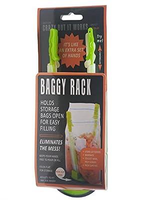 Jokari Hands-Free Baggy Rack Storage Bag Holder