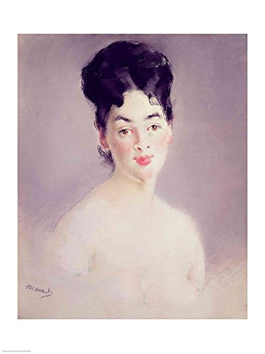 Bust of a Young Female Nude, c.1875 by Edouard Manet Art Print, 15 x 20 inches