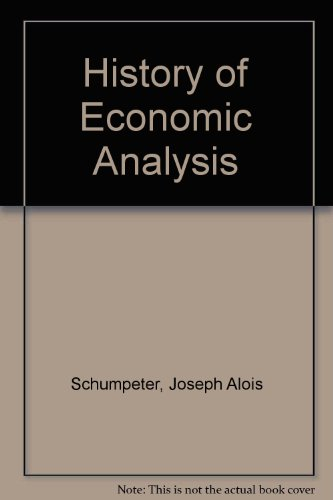 History of Economic Analysis