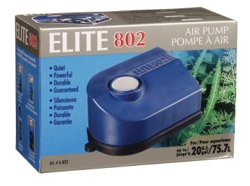 Elite 802 Air Pump Dual Outlet - Elite A802