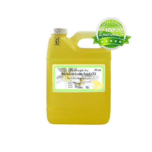 Meadowfoam Seed Oil Pure Organic by Dr.Adorable 32 Oz/ 1 Quart