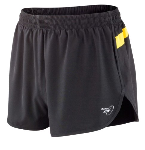 Time to Run Men's Pace Running Short XL Gold