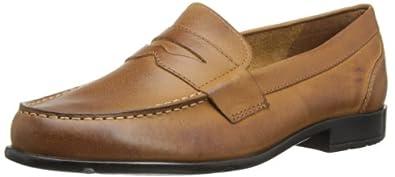 Rockport Mens Classic Lite Penny Loafers V76687 Caramel 7.5 UK, 41 EU, 8 US