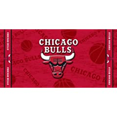 Buy McArthur Sports Chicago Bulls Beach Towel by WinCraft