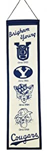 Buy NCAA Brigham Young Cougars Heritage Banner by Winning Streak
