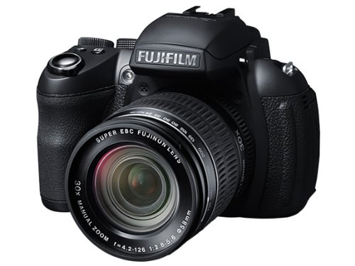 Fujifilm FinePix HS30EXR 16MP Point and Shoot Digital Camera  Black  with 30x Manual Optical Zoom available at Amazon for Rs.22500
