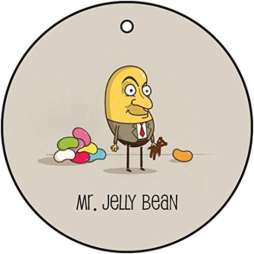 MR JELLY BEAN CAR AIR FRESHENER (CHRISTMAS STOCKING FILLER) (Jelly Bean Air Freshener compare prices)
