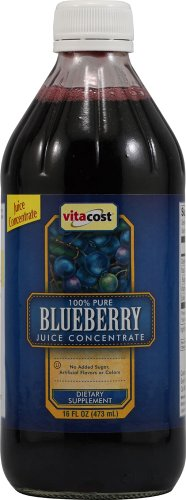 Vitacost 100% Pure Blueberry Juice Concentrate -- 16 Fl Oz