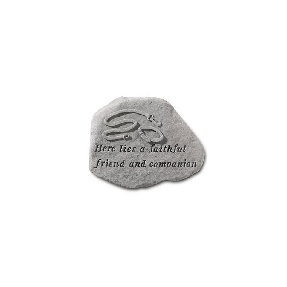 Pet Memorial Faithful Friend Memorial Stone