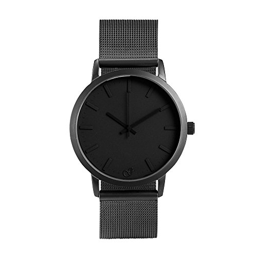 gaxs-watches-jordan-hombre-reloj-de-pulsera-negro-con-malla-acero-inoxidable-gris-mate