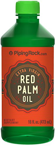Red Palm Oil (Extra Virgin) 16 fl oz (Red Palm Oil Capsules compare prices)