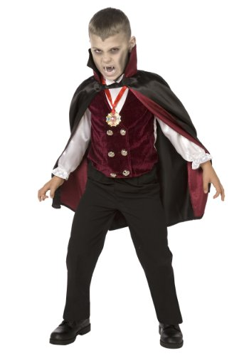 Big Boys' Boy Deluxe Vampire Costume