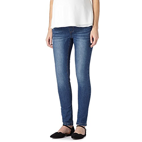 Red Herring Maternity Womens Blue Skinny Maternity Jeans