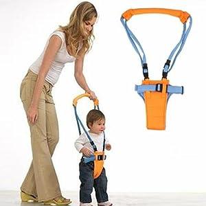 Andador de Arnés Tirantes para Aprendizaje los Primeros Pasos Bebé Toddler£šAjustable Altura: 52cm - 62cm£© - BebeHogar.com