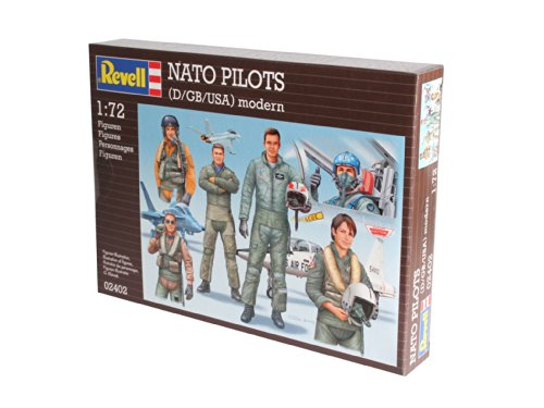 Revell of Germany Combat Pilots Modern Plastic Model Kit (D/GB/USA) - 1