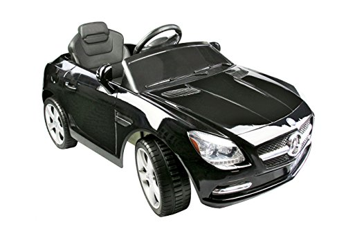 Mercedes-Benz-SLK-Class-6V-Kids-Electric-Ride-On-Car-with-MP3-and-Remote-Control-Black