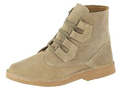 Mens Ghillie Tie Desert Boots Dark Taupe Suede size 6 UK