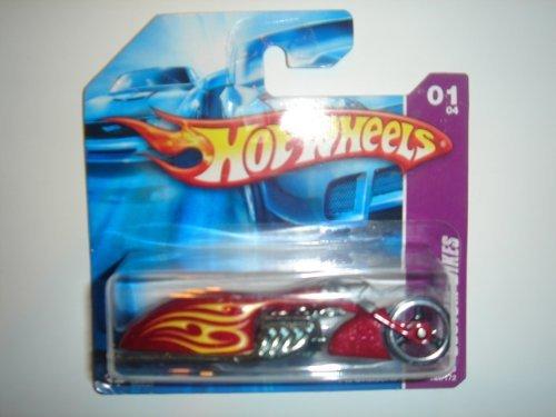 2008 Hot Wheels Short Card Pit Cruiser Dark Red #149/172