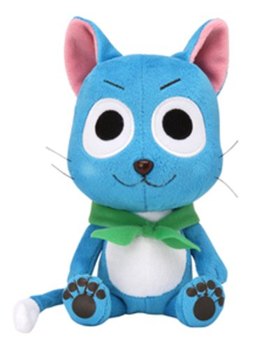 Fairy Tail Happy Plush 7″ Officially Licensed by Sekiguchi image