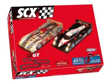 SCX C4 GT Analog Track Set